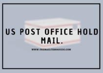 US post office hold mail