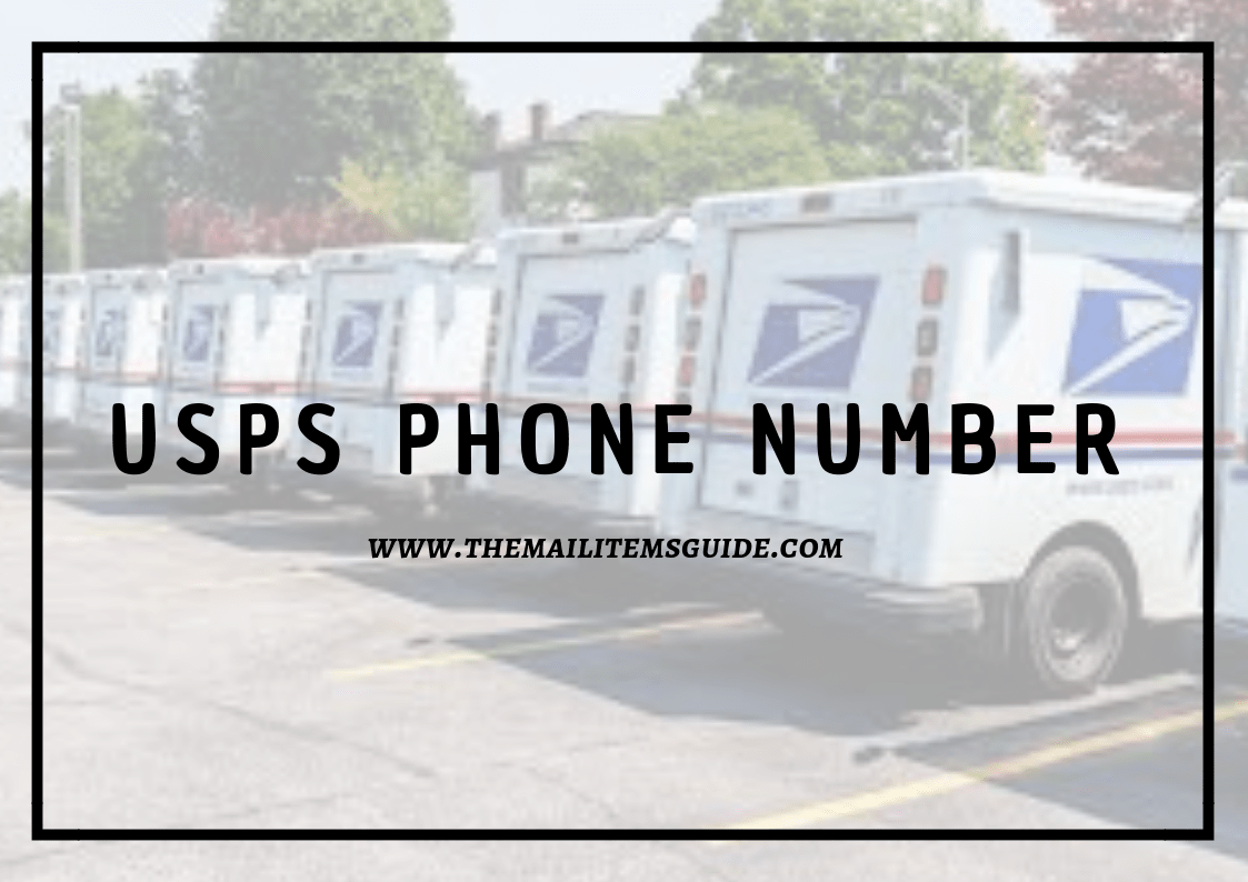 usps phone number