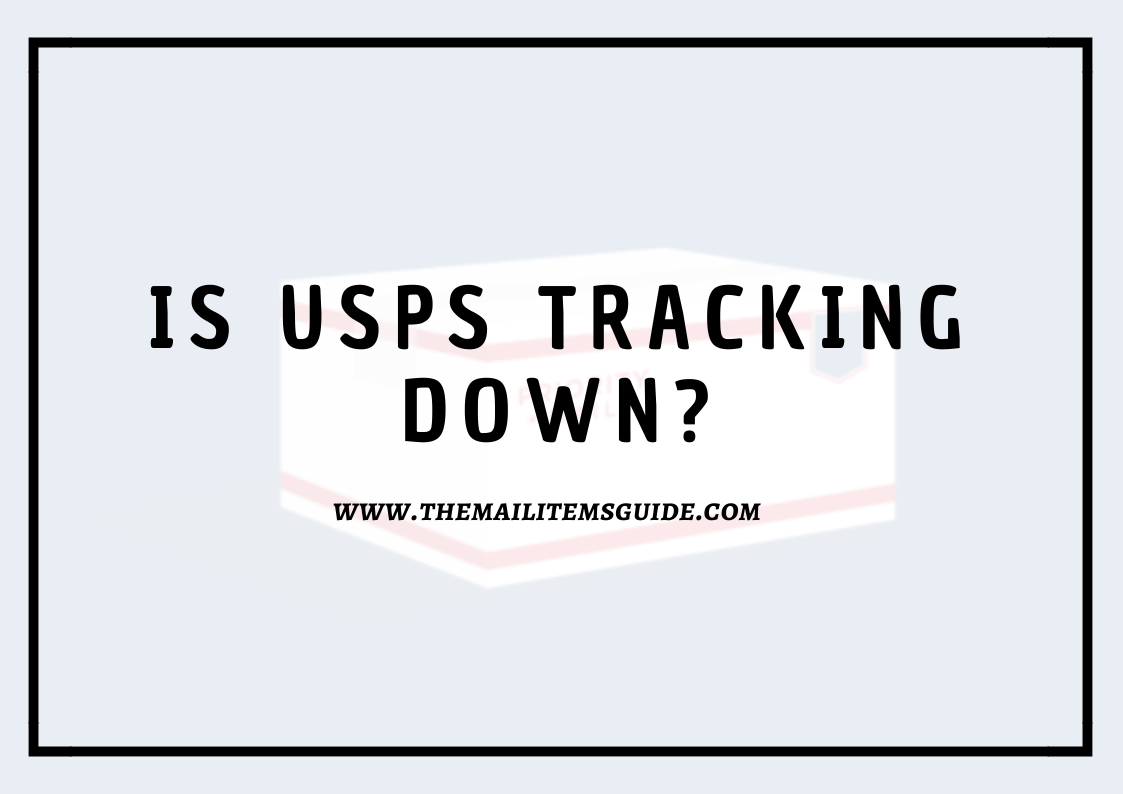 USPS Tracking Down