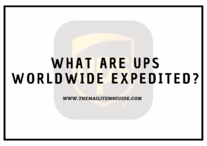 ups worldwide experdited